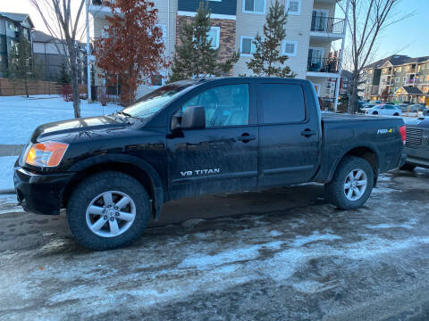 2014 Nissan Titan for sale at Canuck Truck in Magrath AB