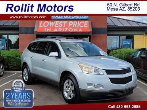 2010 Chevrolet Traverse for sale at Rollit Motors in Mesa AZ