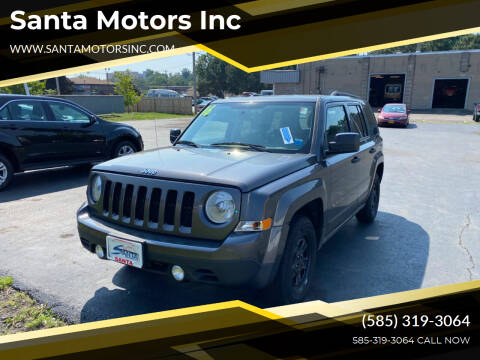 2016 Jeep Patriot for sale at Santa Motors Inc in Rochester NY