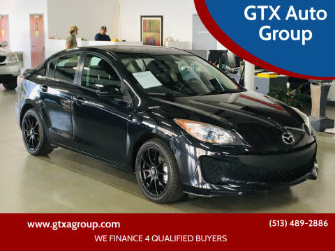 2012 Mazda MAZDA3 for sale at GTX Auto Group in West Chester OH