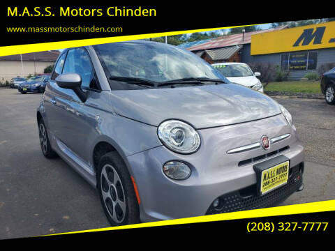 2016 FIAT 500e for sale at M.A.S.S. Motors Chinden in Garden City ID