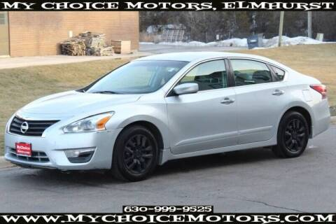 2015 Nissan Altima for sale at My Choice Motors Elmhurst in Elmhurst IL