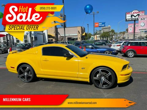 2005 Ford Mustang for sale at MILLENNIUM CARS in San Diego CA