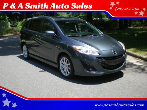 2012 Mazda MAZDA5 for sale at P & A Smith Auto Sales in Cary NC