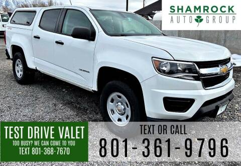 2015 Chevrolet Colorado for sale at Shamrock Group LLC #1 in Pleasant Grove UT