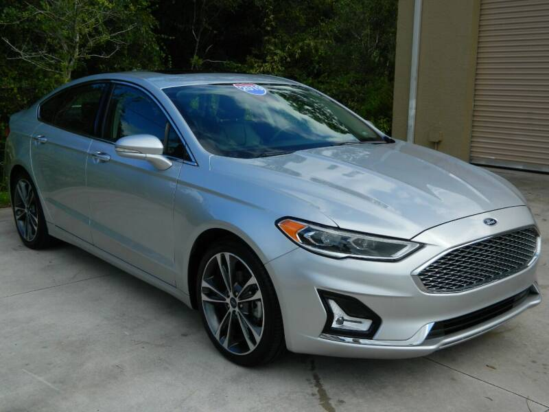 2019 Ford Fusion for sale at Jeff's Auto Sales & Service in Port Charlotte FL