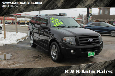 2010 Ford Expedition for sale at E & S Auto Sales in Crest Hill IL
