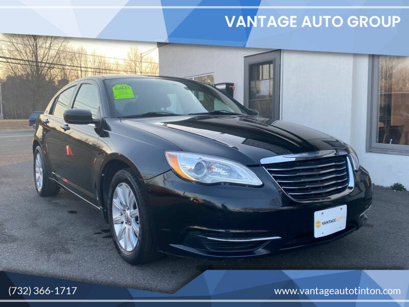 2013 Chrysler 200 for sale at Vantage Auto Group in Tinton Falls NJ