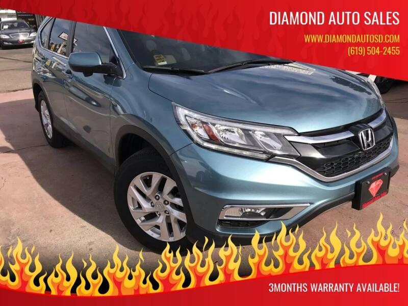 2016 Honda CR-V for sale at DIAMOND AUTO SALES in El Cajon CA