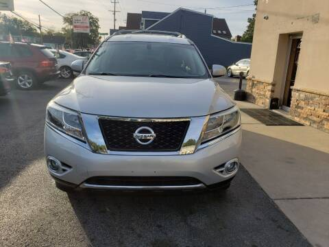 2015 Nissan Pathfinder for sale at Marley's Auto Sales in Pasadena MD