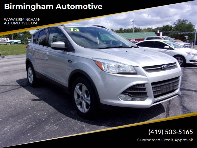 2014 Ford Escape for sale at Birmingham Automotive in Birmingham OH