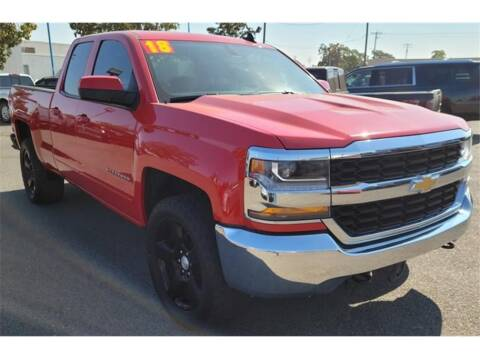 2018 Chevrolet Silverado 1500 for sale at ATWATER AUTO WORLD in Atwater CA