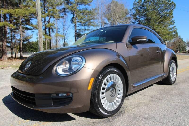2016 Volkswagen Beetle for sale at Oak City Motors in Garner NC