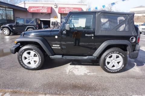 2010 Jeep Wrangler for sale at patrick kelley in Bonner Springs KS