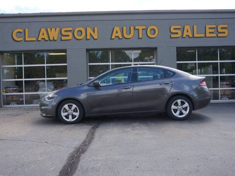 2015 Dodge Dart for sale at Clawson Auto Sales in Clawson MI