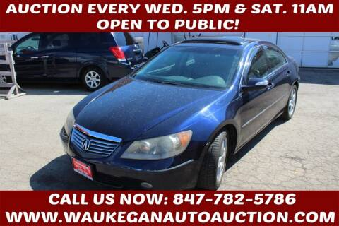 2006 Acura RL for sale at Waukegan Auto Auction in Waukegan IL
