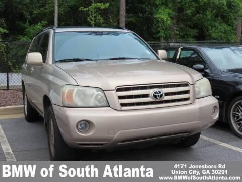 2005 Toyota Highlander for sale at Carol Benner @ BMW of South Atlanta in Union City GA