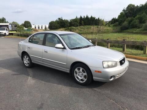 2002 Hyundai Elantra for sale at Lexton Cars in Sterling VA