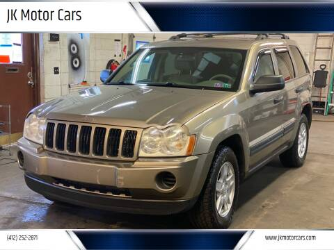 2006 Jeep Grand Cherokee for sale at JK Motor Cars in Pittsburgh PA