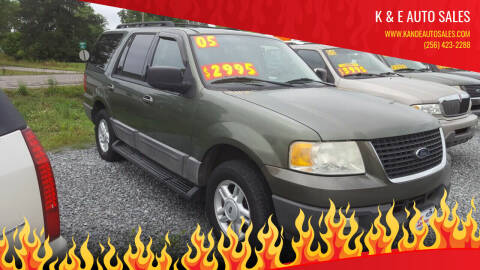 2005 Ford Expedition for sale at K & E Auto Sales in Ardmore AL