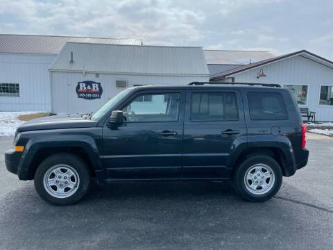 2016 Jeep Patriot for sale at B & B Sales 1 in Decorah IA