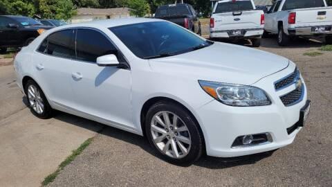 2013 Chevrolet Malibu for sale at JR Auto in Brookings SD