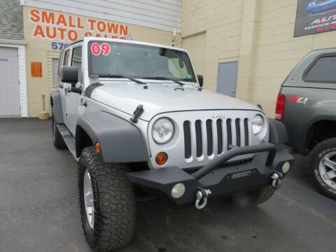 2009 Jeep Wrangler Unlimited for sale at Small Town Auto Sales in Hazleton PA