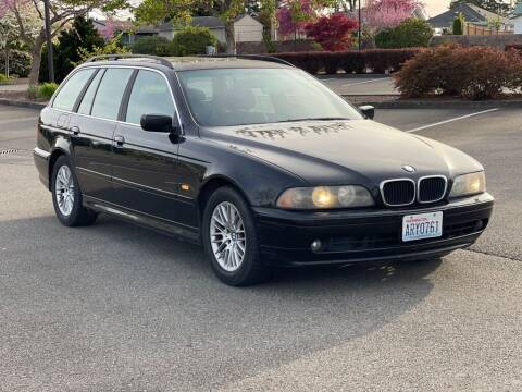 2002 BMW 5 Series for sale at Q Motors in Tacoma WA