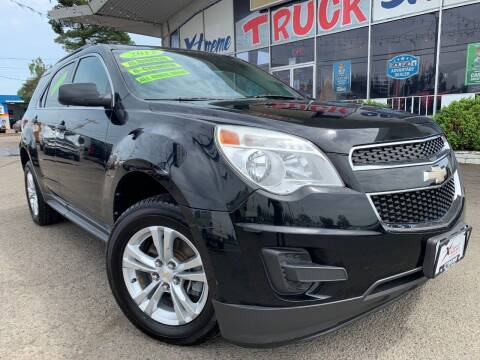 2012 Chevrolet Equinox for sale at Xtreme Truck Sales in Woodburn OR