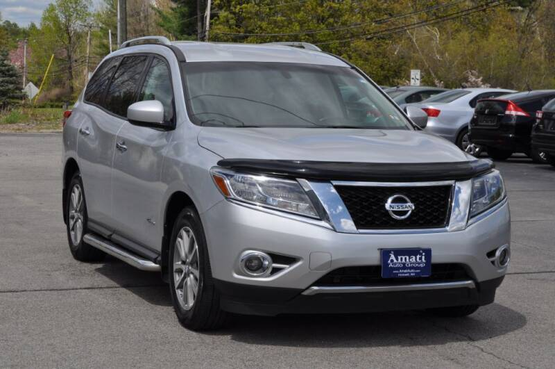 2014 Nissan Pathfinder Hybrid for sale at Amati Auto Group in Hooksett NH