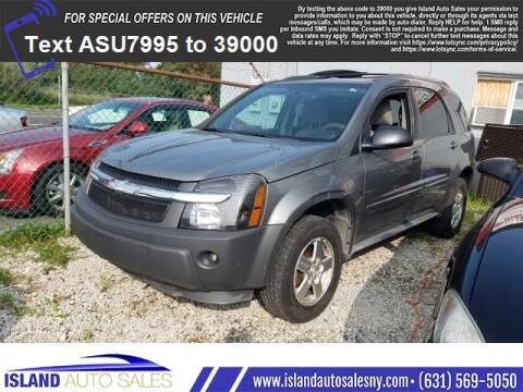 2005 Chevrolet Equinox for sale at Island Auto Sales in E.Patchogue NY
