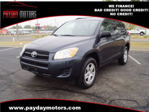 2011 Toyota RAV4 for sale at Payday Motors in Wichita And Topeka KS