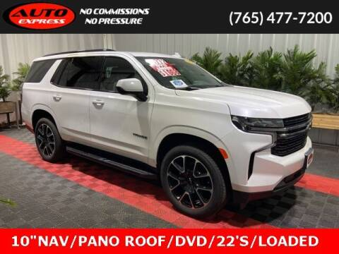 2021 Chevrolet Tahoe for sale at Auto Express in Lafayette IN