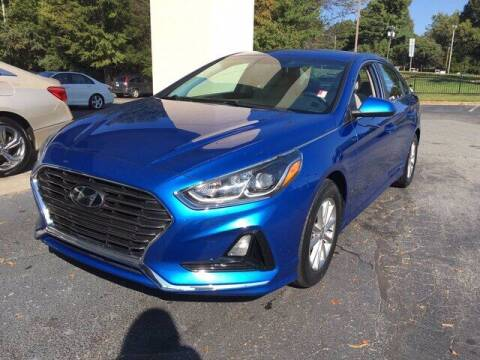2018 Hyundai Sonata for sale at Credit Union Auto Buying Service in Winston Salem NC