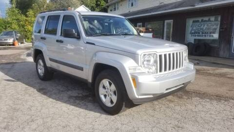 2012 Jeep Liberty for sale at Motor House in Alden NY