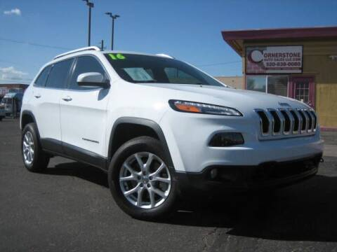 2016 Jeep Cherokee for sale at Cornerstone Auto Sales in Tucson AZ