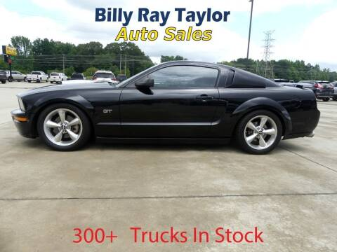 2007 Ford Mustang for sale at Billy Ray Taylor Auto Sales in Cullman AL