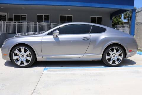 2005 Bentley Continental for sale at PERFORMANCE AUTO WHOLESALERS in Miami FL