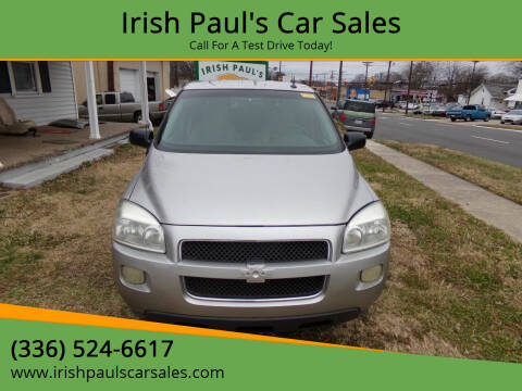 2005 Chevrolet Uplander for sale at Irish Paul's Car Sales in Burlington NC