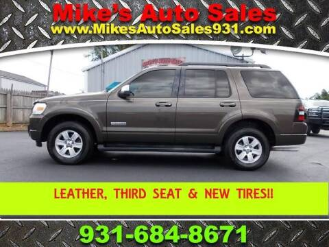 2008 Ford Explorer for sale at Mike's Auto Sales in Shelbyville TN