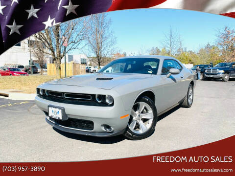 2019 Dodge Challenger for sale at Freedom Auto Sales in Chantilly VA