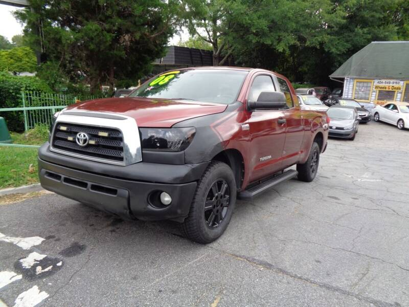 2008 Toyota Tundra for sale at Wheels and Deals 2 in Atlanta GA