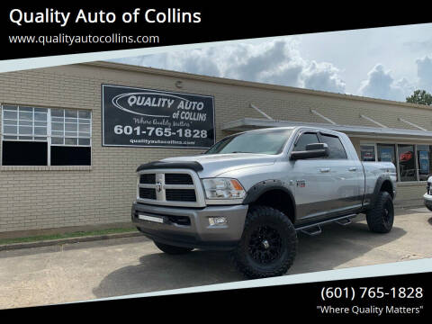 2011 RAM Ram Pickup 3500 for sale at Quality Auto of Collins in Collins MS