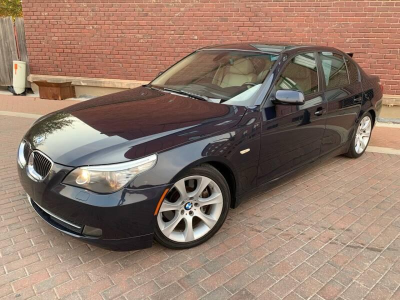 2009 BMW 5 Series for sale at Euroasian Auto Inc in Wichita KS