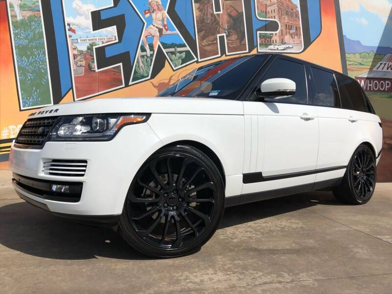 2016 Land Rover Range Rover for sale at Sparks Autoplex Inc. in Fort Worth TX
