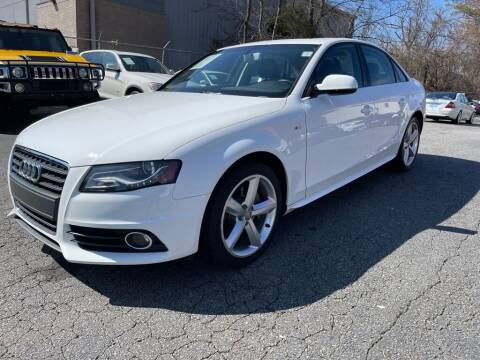 2012 Audi A4 for sale at Quality Autos in Marietta GA