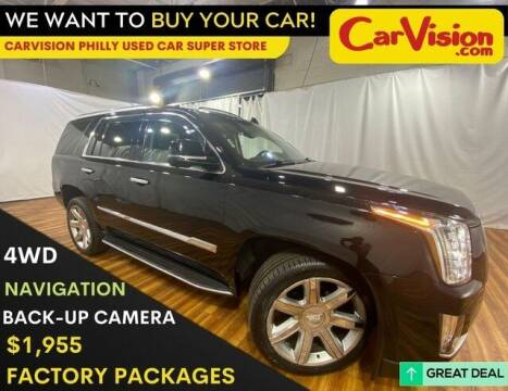 2016 Cadillac Escalade for sale at Car Vision Mitsubishi Norristown - Car Vision Philly Used Car SuperStore in Philadelphia PA