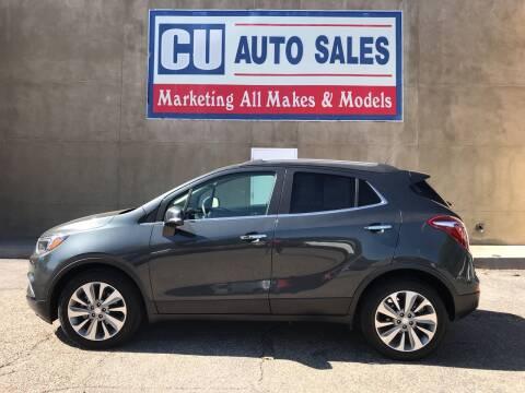 2017 Buick Encore for sale at C U Auto Sales in Albuquerque NM