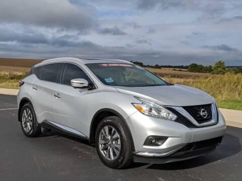 2016 Nissan Murano for sale at Bob Walters Linton Motors in Linton IN