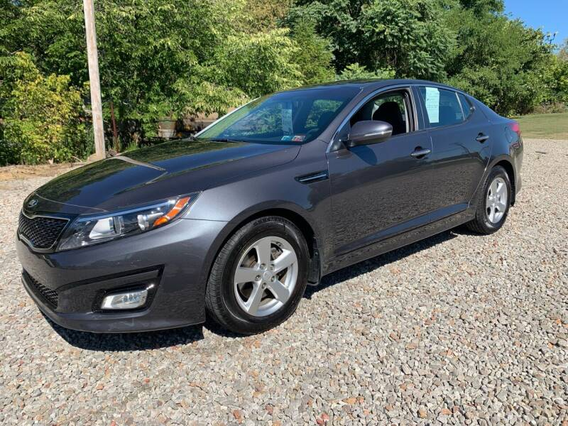 2015 Kia Optima for sale at Reds Garage Sales Service Inc in Bentleyville PA